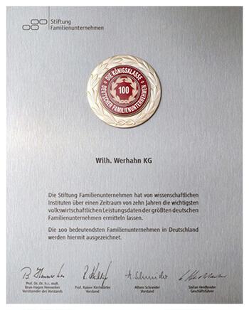 Werhahn-News_Urkunde-WW-Top-100_B